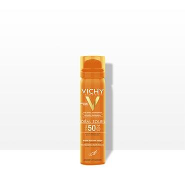 Bruma Refrescante para o rosto FPS50 Ideal Soleil - Laboratórios Vichy  A  pele vive mais forte 93d3ab57f1