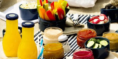 10 Ideias saudáveis para piqueniques