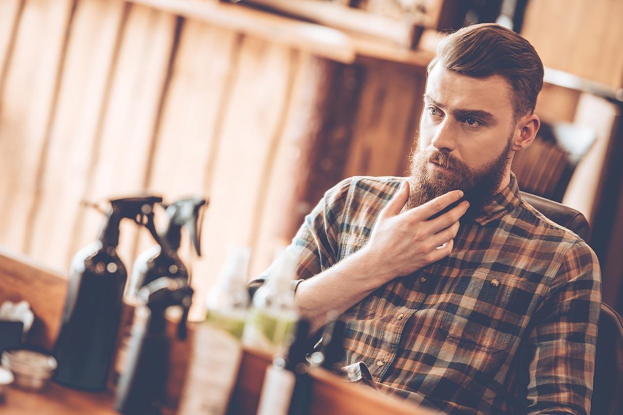 De cura barbear irritação de